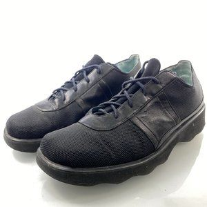 THIERRY RABOTIN 9 Black Leather Combination Shoes